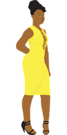 black-woman-in-a-yellow
