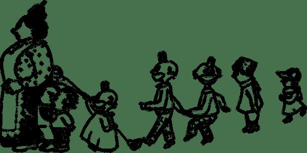 vintage-with children