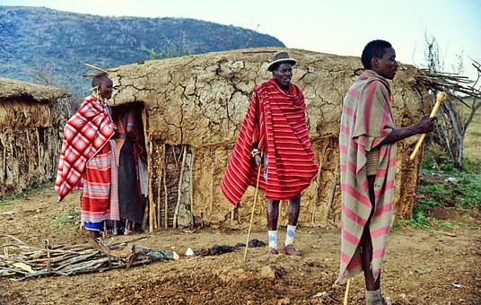 maasai with stick