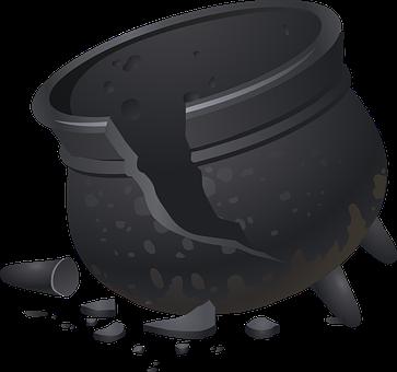pot broken