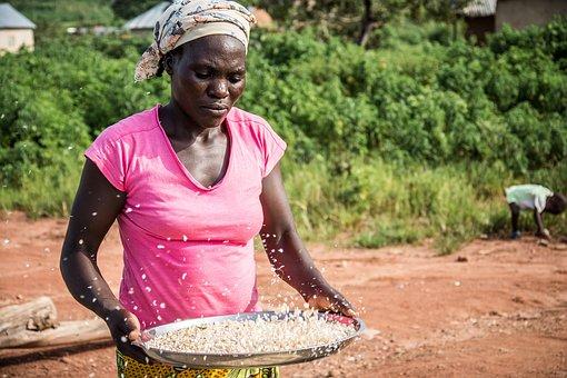 woman preparing food