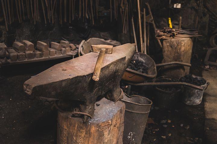 hammer iron