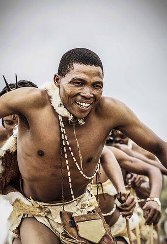 man dance botswana