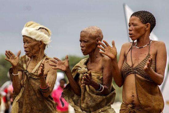 women dance botswana