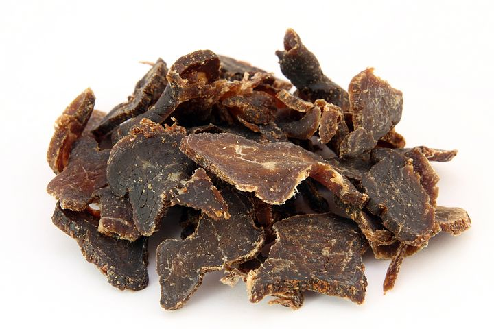 dried meat
